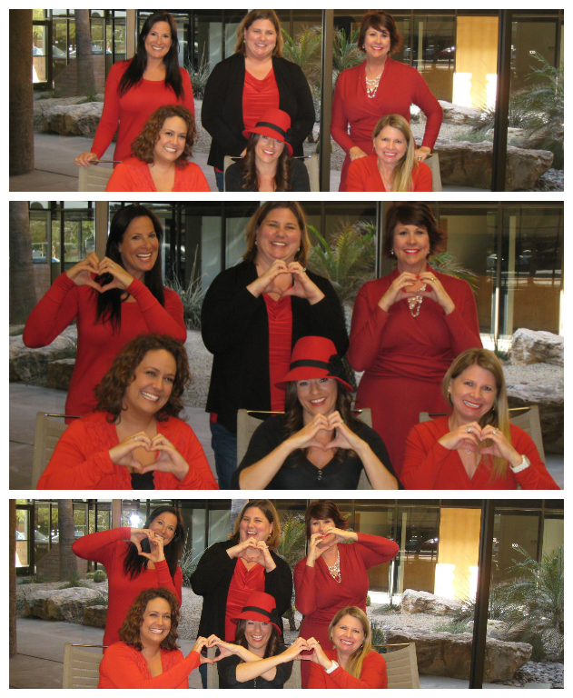 Community Support: AWE and LFS Go Red! – AWE Corporate Interiors